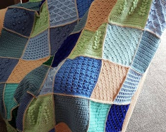 Last Dance on the Beach inspired throw/afghan Made to Order