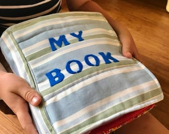 Fabric Activity Books for Children