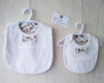 Set of bibs (0/6 - 6 m and +)