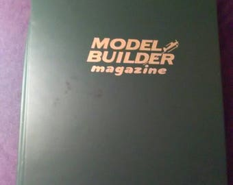 Rare 1983 Model Builder Magazine Complete Year 12 Issues In Official Binder