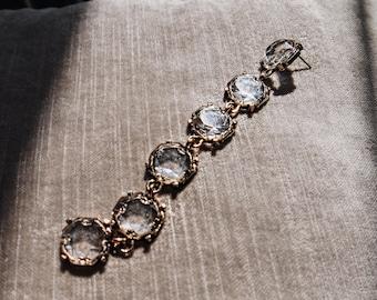 Pendant earring/Dangle earring/Long dangle earring/Long earring/Vintage earring/Antique finish jewelry/gift for her/boho earring