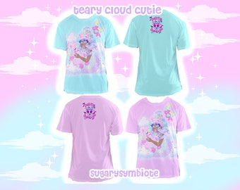 Teary Cloud Cutie Mesh T-shirt