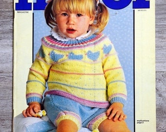 All 210 - baby knitting magazine and children (Vintage)