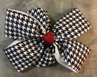 Houndstooth Bow
