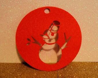 ball snowman set of 5 1052 embellishment wooden creations