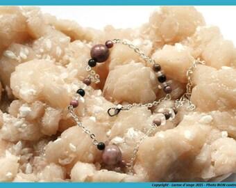 """Ankle bracelet """"Subtle sweetness"""""""
