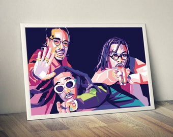 Migos Limited Artwork