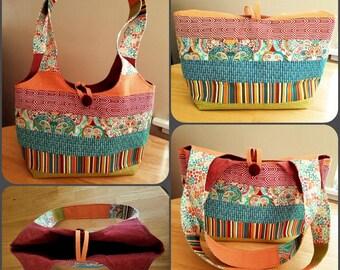 Fabric Tote bag - Autumn style