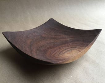 Black Walnut Winged Bowl