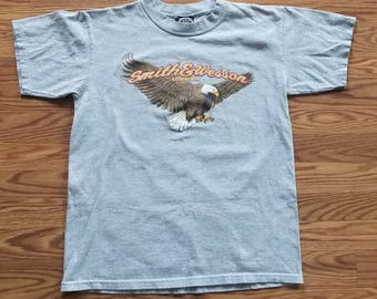 Smith and Wesson Vintage 90's Eagle T-shirt Medium