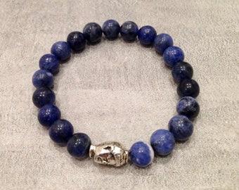 The Poet's Stone Mala Bracelet