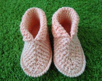 Orange Slipper Boot Winter slippers Cozy Sweater Slipper