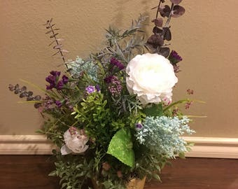 Floral Arrangement Home Decor