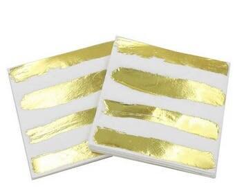 Gold Foil Napkins (pack of 20)
