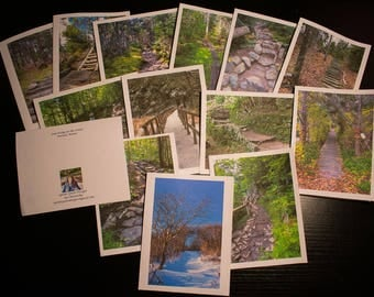 14 Card Set of Paths in the Forest.