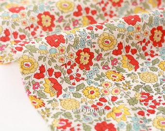10% fabric Liberty of London-74x136cm Anjo B-yellow