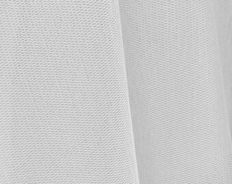 Victoria WHITE English Netting Fabric by the Yard - SKU 6000