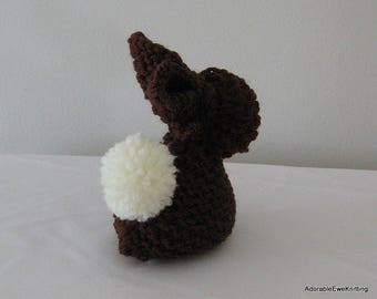 Knitted Snuggle Bunny