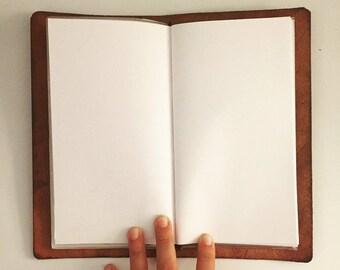 Blank paper Traveler insert