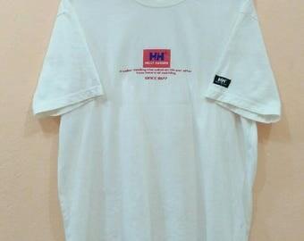 HELLY HANSEN Shirt spellout medium size