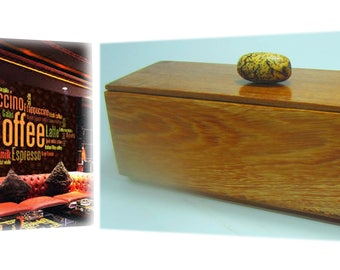 Brazilian wood box Natural wood colour  Waterproof  Hand Rubbed  Marble smooth finish