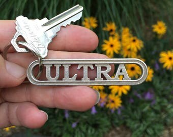 Ultra marathon gift for runners, ultrarunning keychain, extreme running, marathon gift, ultra running gift, athlete gift, car decal