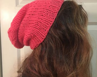 Knit Slouch Beanie