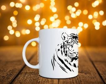 Animal Tiger Coffee Mug / Cup