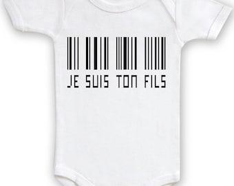 "Original Bodysuit ""I am your son"""