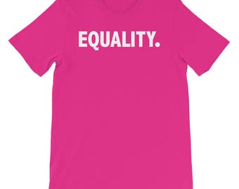 Equality T-Shirt | Peace, Love, Unity, Equal Rights For All. Equality. Shirt, Pride And Equal Rights Shirt, Equality T-Shirt