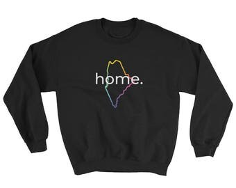 Maine Home Crewneck