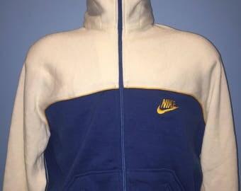 Vintage Nike 1970s Track Jacket with Hood