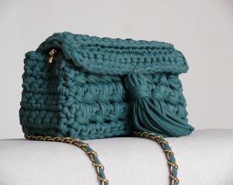 Knitted bag-clutch/knitted bag/knitted clutch/crochet bag/knit bag/handmade bag/bag/hand knitted bag/handmade/knitted handbag/hand knit bag