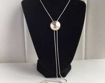 Tommy Hilfiger Button Slider Necklace