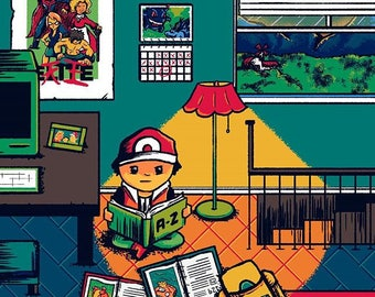 Link's House 2 / Nintendo / Illustration / Art Print