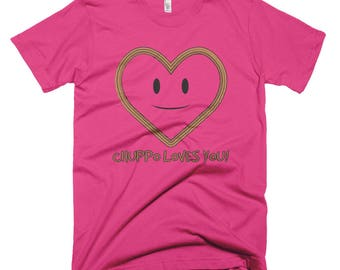Chuppo Loves you Short-Sleeve T-Shirt