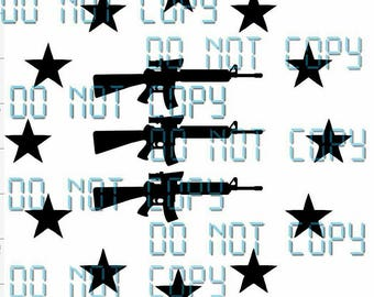 Gun Star Vinyl Decal