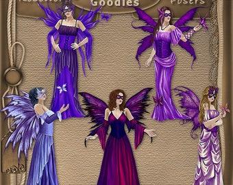 Purple Fae 1