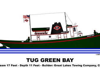 Great Lakes Tug Green Bay
