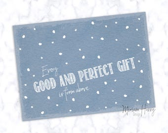"""Postcard A6 """"Every Gift"""""""