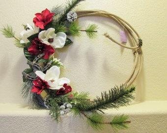 Western Inspired Christmas Wreath