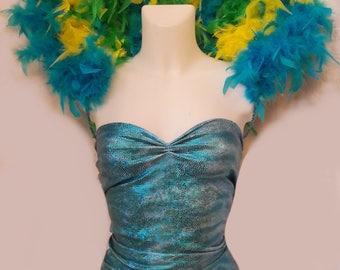 Customizable Brazil feather collar