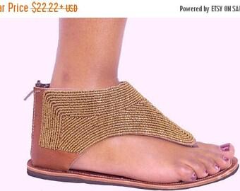 ON SALE GREEK Sandals, Greek Leather Sandals, Leather Sandals, African Sandals, African Leather Sandals, Bohemian Sandals, Beaded Sandals