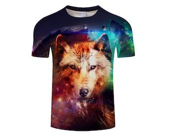 Wolf Shirt, Wolf Shirts, Wolf Tee Shirt, Wolf Tshirt, Wolves Shirt, Wolf T-shirt, Wolf, Wolves, Wolves Tshirt, Shirt, Wolf Tee - Style 8