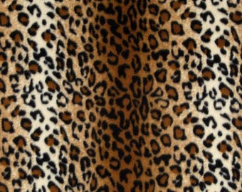 "CLEARANCE! Size 4 ""Fleece"" Weighted Vest for Child w/Special Needs and Sensory Issues. Leopard Print"