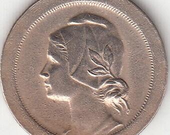 Portugal 10 centavos 1920, cupro-niquel