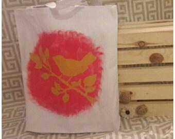 Canvas Tote Bag -Bird Design