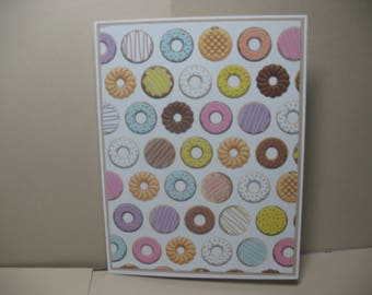 Handmade Donut Blank Note Cards
