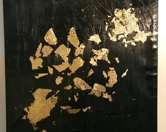 Abstract 1 - Black n Gold