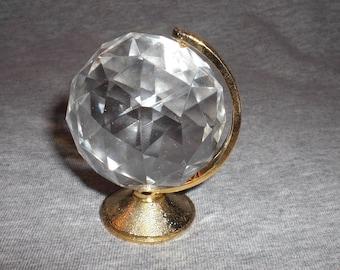 Globe Large - miniature collectible crystal figurine
